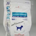 Hypoallergenic small dog under 10 kg. ขนาด 1 kg. Exp.03/19 พิเศษสำหรับสุนัขพันธ์เล็กที่มีภาวะแพ้อาหาร