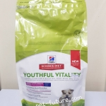 youthful vitality small&toy breed ขนาด 1.58 kg. Exp.04/19