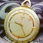 นาฬิกาพกเก่า ELGIN ไขลาน