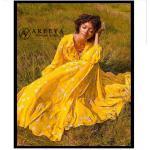 Tophop dress สีเหลืองลายดอกไม้เล็กๆทั้ง