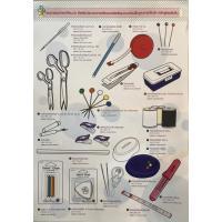 อุปกรณ์แนะนำ คอร์ส Basic Sewing 101