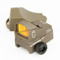 Red Dot DOCTERsight C สีทราย + ขาจับ Glock (ปรับแสง Auto)