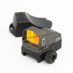Red Dot DOCTERsight C สีเทา + ขาจับ Glock (ปรับแสง Auto)