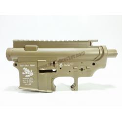 Body เหล็ก M4 ลายกบ(Skull Frog) สีทราย - งาน Big Dragon