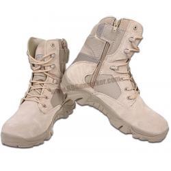 รองเท้า Delta Combat Boots ข้อสูง สีทราย