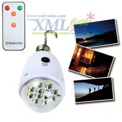 โคมไฟห้อยโซล่าเซลล์อเนกประสงค์ 12 SMD LED