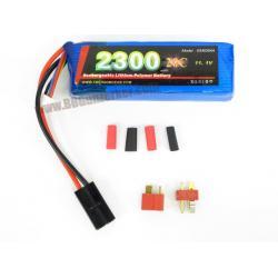 แบตลิโพ Emerson 20C 11.1V 2300mAh (Litium Polymer Battery)
