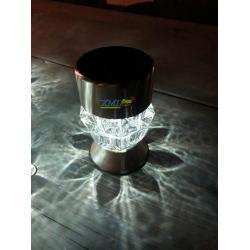 ไฟโซล่าเซลล์ 2 LED ทรง คทา (เเสง : ขาว + หลากสี)