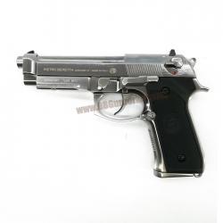 Beretta M9A1 WE สีเงิน (Full Auto)