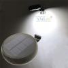 โคมไฟโซล่าเซลล์ ติดผนัง ทรงกลม 6 SMD LED+Motion Sensor (เเสง : ขาว)