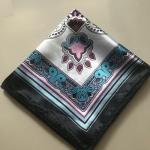 ผ้าพันคอ ผ้าคลุม ซาติน 70*70 ST05-052