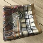 ผ้าพันคอ ผ้าคลุม ซาติน แก้ว บางๆ ST03-016