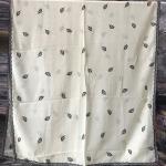ผ้าคลุม ชีฟอง CHIFFON สีพื้น ปักลาย