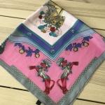 ผ้าพันคอ ผ้าคลุม ซาติน 70*70 ST05-034