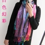 ผ้าพาสมีน่า ลายไหมไทย Thai Silk