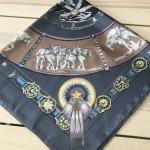 ผ้าพันคอ ผ้าคลุม ซาติน 70*70 ST05-037