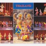 โปสการ์ด การแสดงโขน และรำไทย /ศิลปะการแสดง/การแต่งกาย/multiview