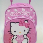 กระเป๋าเป้+ล้อลาก HELLO KITTY สีชมพู