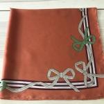 ผ้าพันคอ ผ้าคลุม ซาติน 70*70 ST05-043