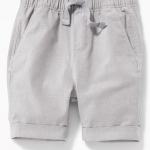 Toddlers shorts / Relaxed Built-In Flex Madras Shortsn
