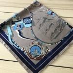 ผ้าพันคอ ผ้าคลุม ซาติน 70*70 ST05-032