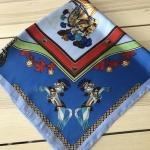 ผ้าพันคอ ผ้าคลุม ซาติน 70*70 ST05-035