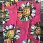 ผ้าพันคอ ชีฟอง สกรีนลาย Chiffon CF01-0021