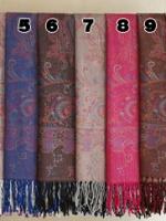 ผ้าพันคอ Pashmina พาสมีน่า ลาย ไทย PS02006T