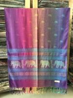 ผ้าพันคอ Pashmina พาสมีน่า ลาย ไทย PS02013T-1