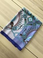 ผ้าพันคอ ผ้าคลุม ซาติน 70*70 ST05-015