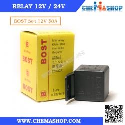 รีเลย์ 5 ขา BOST 12VDC 30A