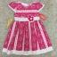 hเสื้อผ้าเด็ก 5-7ปี size 5Y-6Y-7Y ลายดอกไม้ สีชมพู แต่งด้วยดอกไม้ผ้า handmade thumbnail 1