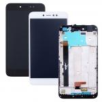 ราคาหน้าจอชุด+ทัสกรีน Xiaomi Redmi Note 5A อะไหล่เปลี่ยนหน้าจอแตก ซ่อมจอเสีย สีขาว