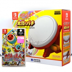 ++ กลอง + แผ่นเกม** (eng)** ++ Hori Taiko Drum Controller for Nintendo Switch (NSW-079) ราคา 4390.-