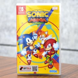 Nintendo Switch Sonic Mania Plus Zone Asia / English ราคา 990.-