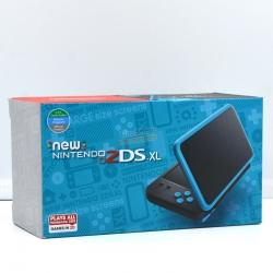 เครื่อง New 2DS XL™ (Black X Turquoise) สีดำ/ฟ้า Asia/English ราคา 5490.- ส่งฟรี