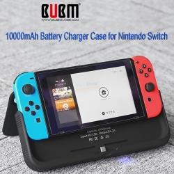 BUBM เคสพาวเวอร์แบงค์ 10000 mAh ++ Battery Charger Case Nintendo Switch 10000mAh 1390.- ส่งฟรี