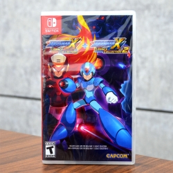Nintendo Switch Mega Man X Legacy Collection 1 + 2 Zone US / English ราคา 1490.-Free ems // Kerry พร้อมส่งจ้า