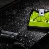 กระเป๋าคาดเอว MOTOZAAA สีเขียวมะนาว