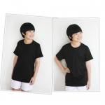 เสื้อกีฬาเด็กสีดำ ไซส์ L
