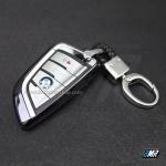 เคสกุญแจ BMW ทรงใบไม้ เนื้องาน TPU (AC101) **สีดำ**