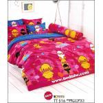 toto ชุดเครื่องนอน ผ้าปูที่นอนลายเป็ดน้อยน่ารัก ชุดเครื่องนอนลายสวยน่านอน TT516