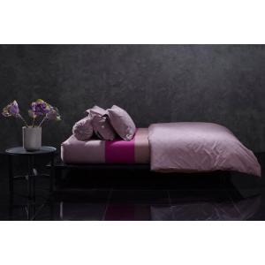 ชุดเครื่องนอน-ผ้าปูที่นอน-Lotus-โลตัส รุ่นปั้มลายนูน EMBOSS สีม่วงอ่อน รหัสLI-C-V02