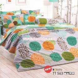 ชุดเครื่องนอน ผ้าปูที่นอน ลายกราฟฟิก TT563