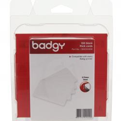 บัตรพลาสติก PVC 0.5 มม. (แพ็ค 100 ใบ) ยี่ห้อ Evolis