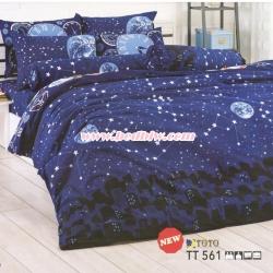 ชุดเครื่องนอน ผ้าปูที่นอนtoto TT561