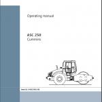 หนังสือ คู่มือซ่อม วงจรไฟฟ้า วงจรไฮดรอลิก จักรกลหนัก Ammann Single Drum Roller 07/2012 (ทั้งคัน) EN