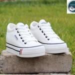 รองเท้าผ้าใบ SS-112 สีขาว