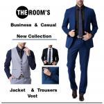 Business & Casual Suit Set & vest