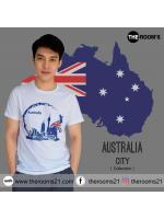 เสื้อยืด AUSTRALIA